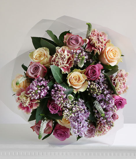 Luxury Rose & Lilac Bouquet