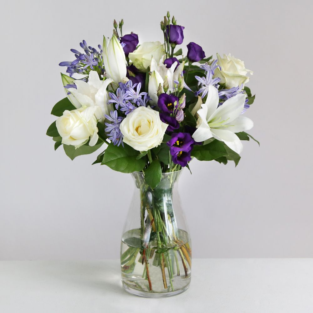 Avalanche Roses & Lisianthus  flowers