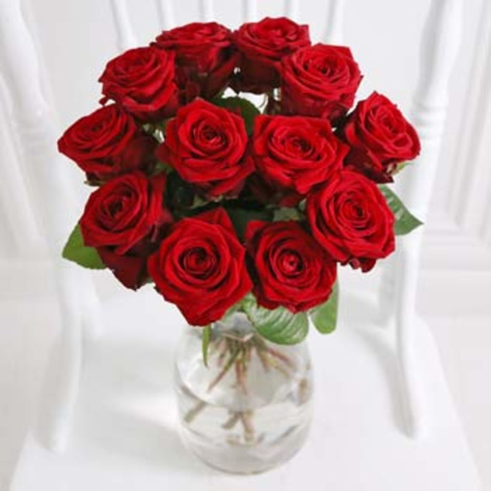 Image of Buy red roses for Valentines Day - flowers