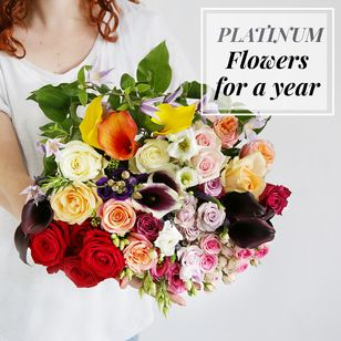 Flowers For A Year | Platinum Collection
