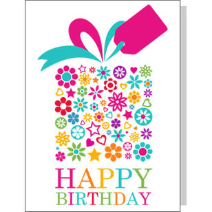 Greetings Card - Happy Birthday