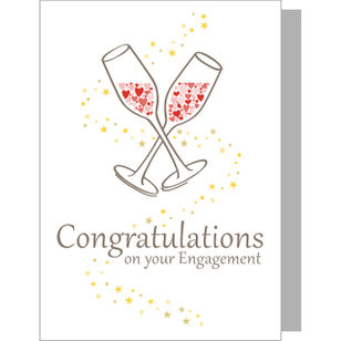Greeting Card - Congratulations on Engagement