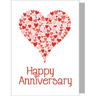 Greeting Card - Happy Anniversary