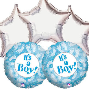 Baby Boy Balloon Gift set