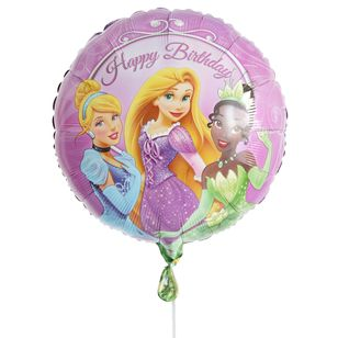 Disney Princess Happy Birthday Balloon