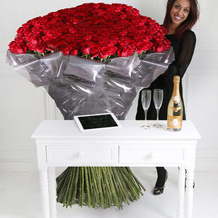 1000 of The World's Largest Roses, Cristal & iPad