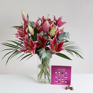 Mothers Day Lily gift set